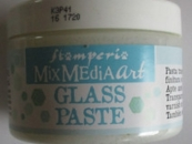 Glass Paste, Ice Effect, 150 ml, Mix Media Stamperia