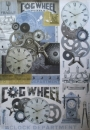 Decoupage Papier, Graffiti watches and mechanismes Stamperia