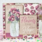 Preview: DL Paper Pad - Flower Jars, Hunkydory