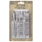 Preview: Idea-ology Tim Holtz Theories Quote Chips