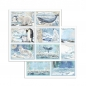 Mobile Preview: Stamperia Arctic Antarctic 8x8 Inch Paper Pack
