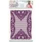 Preview: Sara Signature Vintage Lace Embossing Folder - Venetian Lace