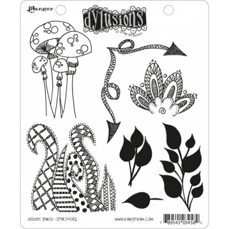 Ranger • Dylusions Cling Stempel doodle parts by Dyan Reaveley