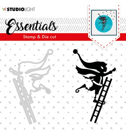 Stamp & Die Cut Essentials Christmas Silhouettes nr.35, Studiolight