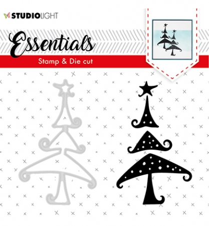 Stamp & Die Cut Essentials Christmas Silhouettes nr.36, Studiolight