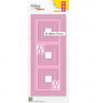 Nellies Choice Nellie's Slimlines squares-1