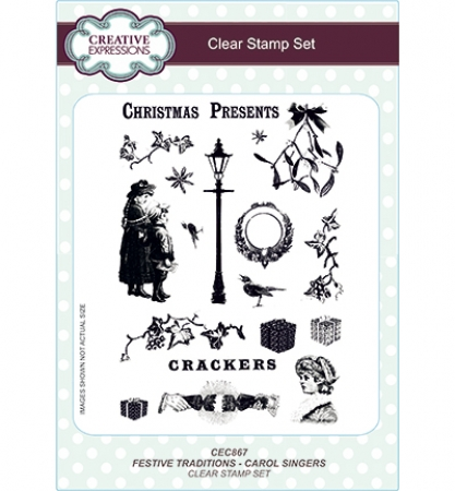 Stempel Festive Traditions - Carol Singers, Creative Expressions