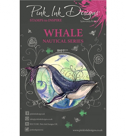 Pink Ink Designs, Whale, Nautical Series