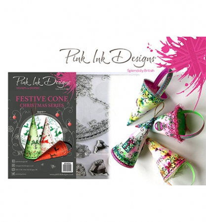 Pink Ink Designs, Festive Cone Christmas Serie