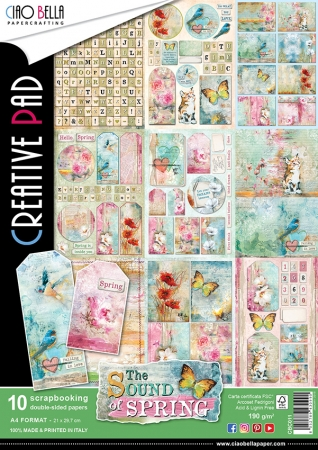 Scrapbooking Creative Pad The Sound of Spring , Ciao Bella