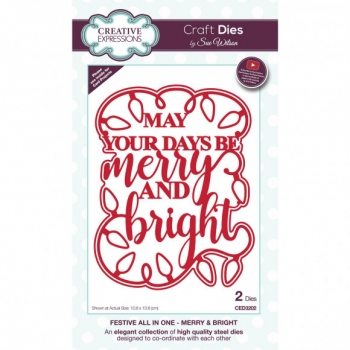 Creative Expressions • Sue Wilson merry & bright