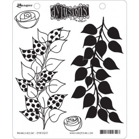 Ranger • Dylusions Cling Stempel branching out by Dyan Reaveley