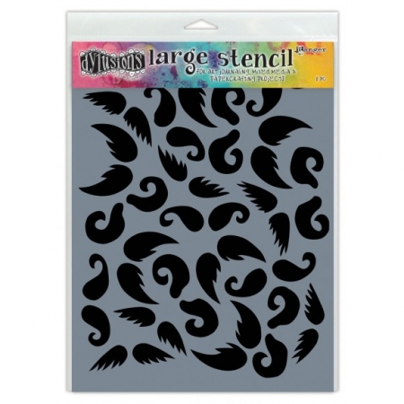 Ranger • Dylusions Schablone stash of tache large, Dyan Reaveley