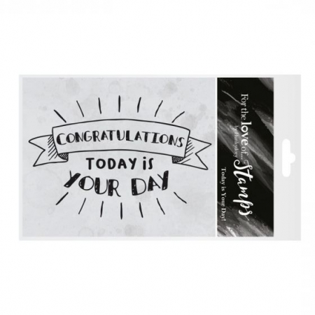 For the Love of Stamps - Today is your Day!, Hunkydory