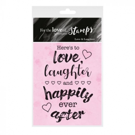 For the Love of Stamps - Love & Laughter, Hunkydory