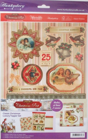 Classic Christmas Luxury Topper Set, Hunkydory