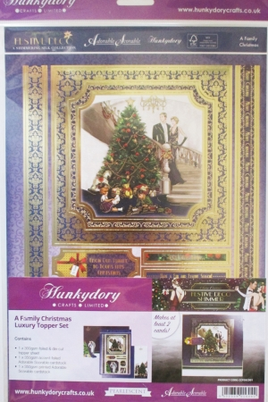 A Family Christmas Luxury Topper Set, Hunkydory