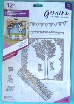 Gemini Create-a-Card Metal Die - Country Fete, Crafters Companion