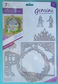 Gemini Create-a-Card Metal Die - Happily Ever After, Crafters Companion