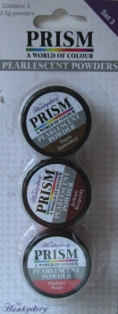 Prism Pearlescent Powders - Set 3, Hunkydory