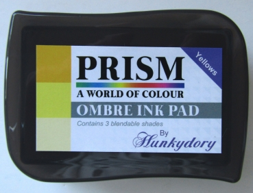 Prism Ombré Ink Pad - Yellows, Hunkydory