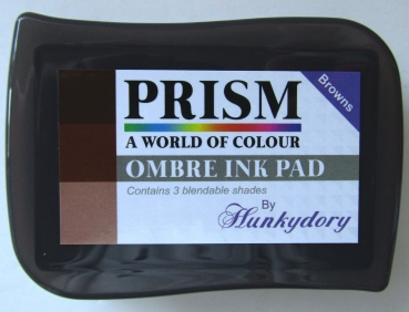 Prism Ombré Ink Pad - Browns, Hunkydory