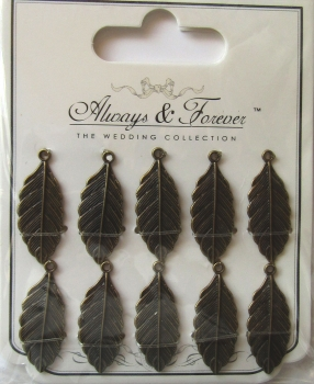 Always & Forever - Vintage Feather Charms, Craft Consortium