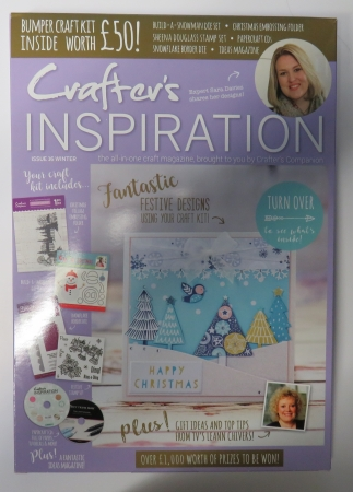 Crafter`s Inspiration Issue 16 Winter, Crafters Companion