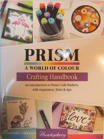 Prism, A World of Colour, Crafting Handbook, Hunkydory