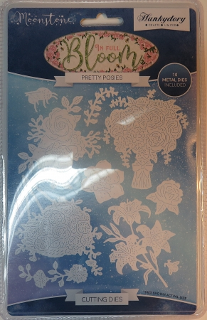 Stanzschablonen Pretty Posies Moonstone Die Set, Hunkydory