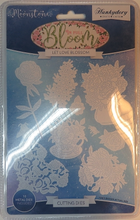 Stanzschablonen Let Love Blossom Moonstone Die Set, Hunkydory