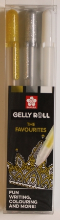 Gelly Roll, The Favourites, 3 teilig, Sakura