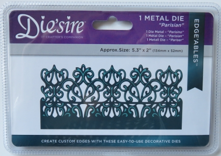 Die`sire Metall Stanze Parisian, Crafters Companion
