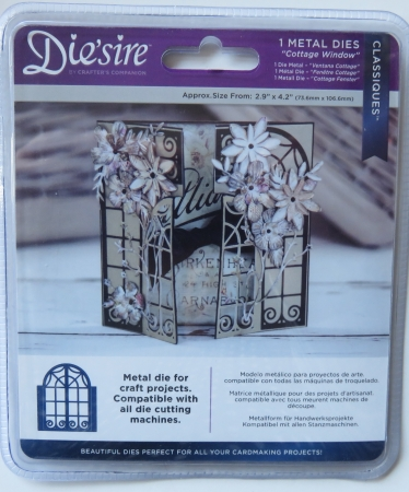 Die'sire Classiques Cottage Window , Crafters Companion