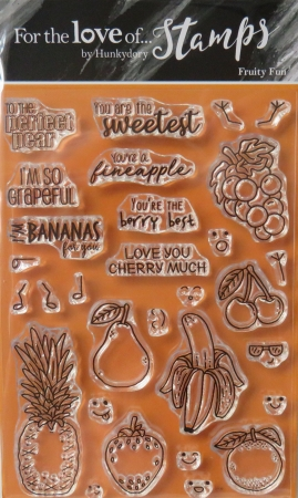 For the love of stamps, Fruity Fun, Hunkydory