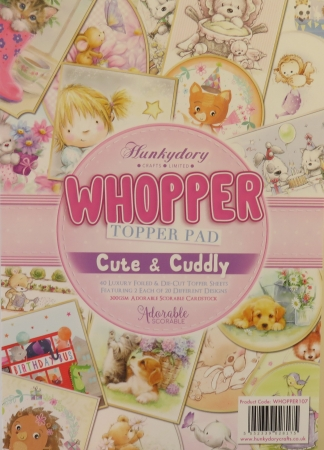 Whopper Topper Pad, Cute & Cuddly, Hunkydory