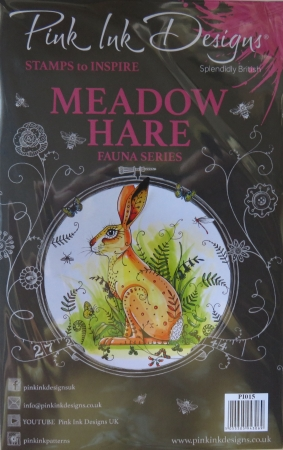Pink Ink Designs, Meadow Hare, Fauna Series