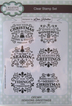 Creative Expressions • Lisa Horton Seasons Greetings