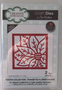 Creative Expressions • Festive Collection - Poinsettia