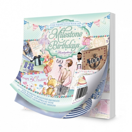 The Square Little Book of Milestone Birthdays, Hunkydory