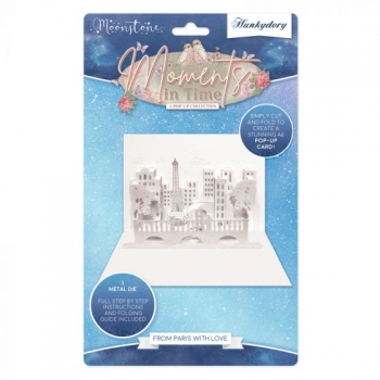 Moonstone Die Set - From Paris with Love, Stanzschablone, Hunkydory