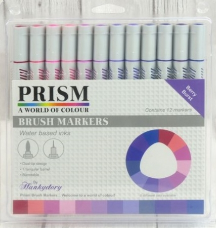 Prism Brush Markers - Berry Burst, Hunkydory