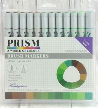 Prism Brush Markers - Forest Walk, Hunkydory