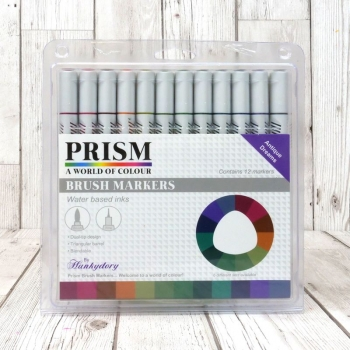 Prism Brush Markers - Antique Dreams, Hunkydory