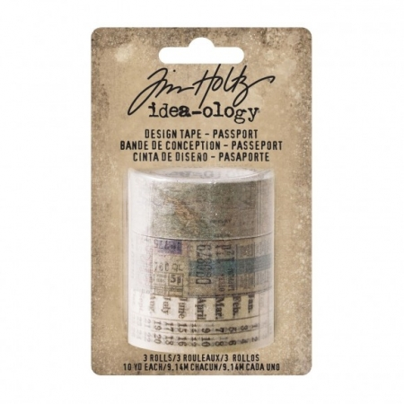 Idea-ology • Tim Holtz design tape passport