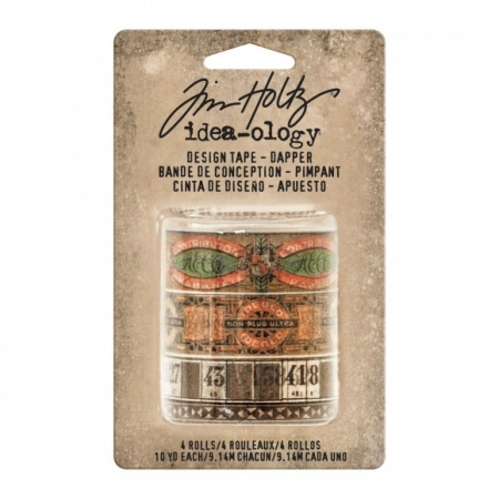 Idea-ology • Tim Holtz design tape dapper