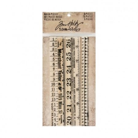 Idea-ology • Tim Holtz ruler pieces