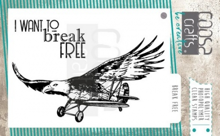 COOSA Crafts clearstamps A7 - Break Free, Coosa Crafts
