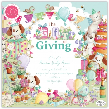 Craft Consortium The Gift of Giving 6x6 Inch Paper Pad