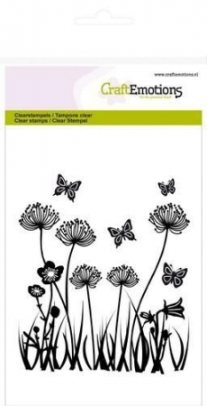 CraftEmotions clearstamps A6 - Feldblumen